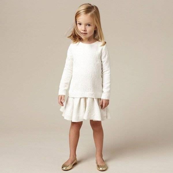 CHLOE-Off-White-Gold-Jacquard-Dress