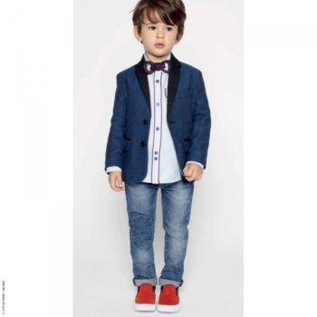 Little Marc Jacobs Jacket Oxford Shirt & Jeans