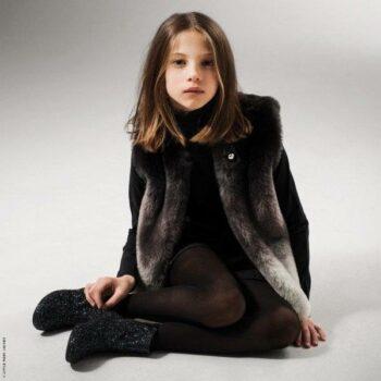 Little Marc Jacbos Soft Faux Fur Tie Dye Effect Vest