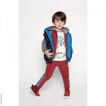 Little Marc Jacbos Mr Marc Spaceman Tshirt & Red Sweatsuit