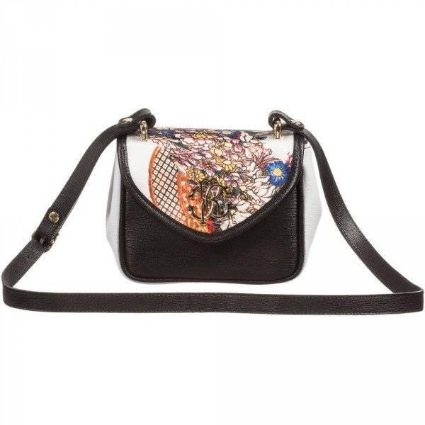 ROBERTO CAVALLI Girls Citronelle Leather Shoulder Bag