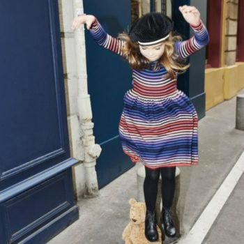 Sonia Rykiel Enfant Baby Striped Knit Dress