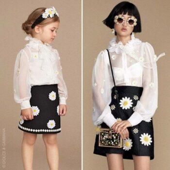 DOLCE-GABBANA-Black-White-Daisy-Crepe-Daisy-Skirt-p