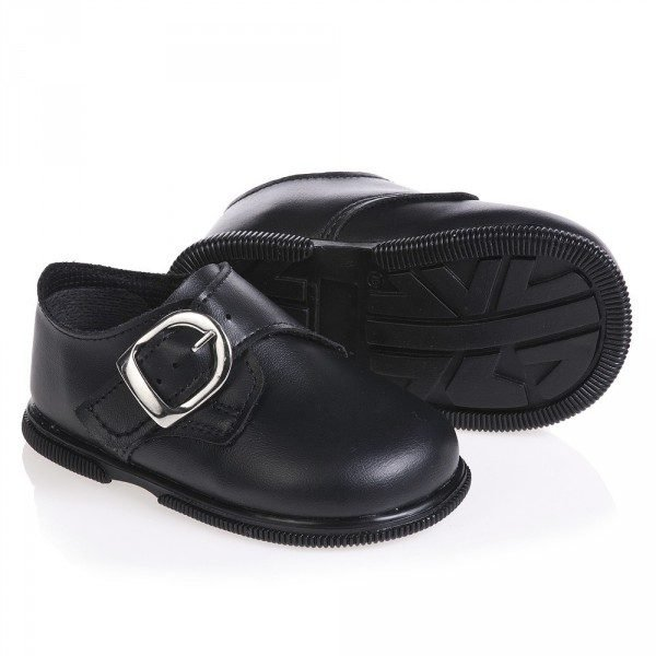 EARLY DAYS Boys Black Toddler Shoes