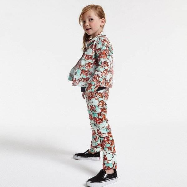 KENZO Girls Orange Tiger 'Jungle' Jeans & Jacket
