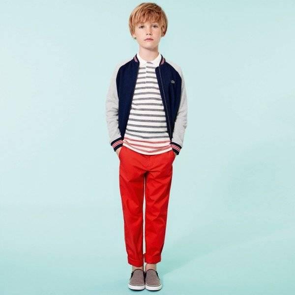 d4d6ecab Lacoste Kids Plain Polo Shirt Black - Terraces Menswear. lacoste kids