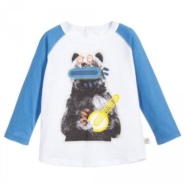 STELLA MCCARTNEY KIDS Organic Cotton Max Baby T-Shirt