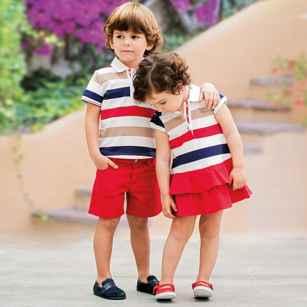 Tutto-Piccolo-Striped-Cotton-Pique-Polo-Dress