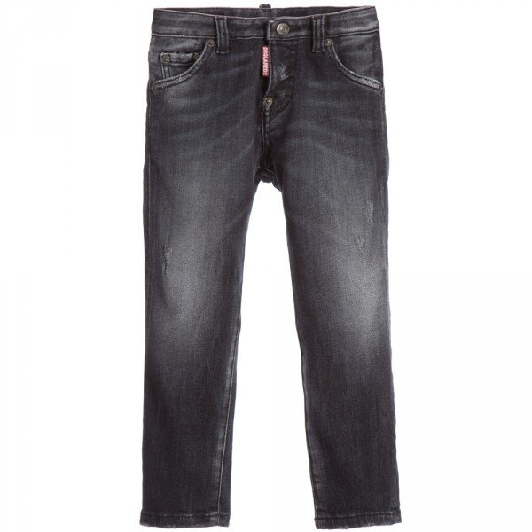 DSQUARED2 Boys Black Cool Guy Denim Jeans