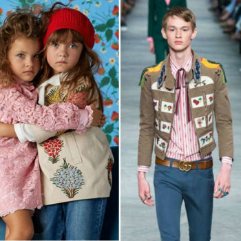 GUCCI Embroidered Floral Tan Jacket Trend SS16