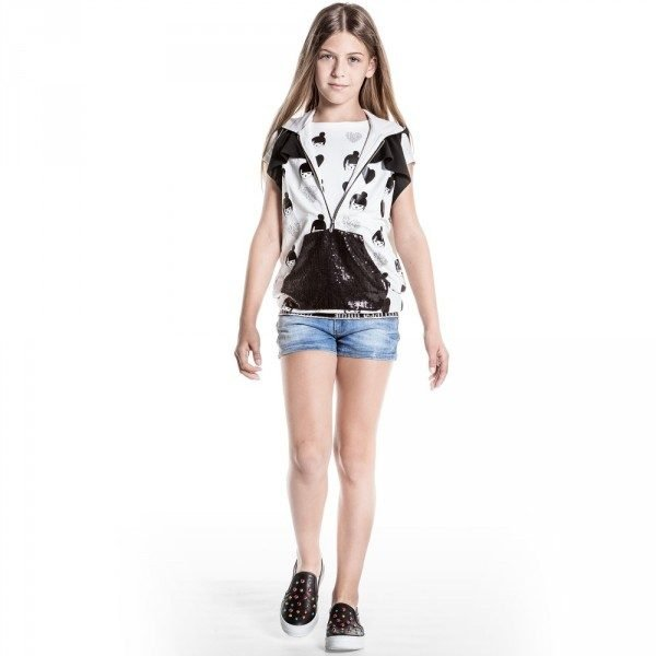 JOHN GALLIANO Girls Black & White Japanese Girl Outfit