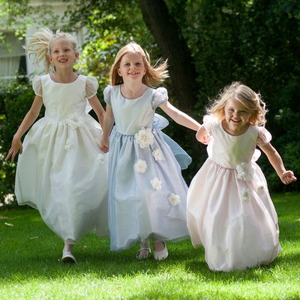 NICKI MACFARLANE Silk Organza 'Isabella' Dresses