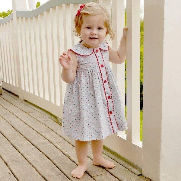 RACHEL RILEY Baby Girls Sailboat Dress & Bloomers Set