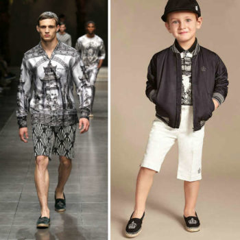 Dolce & Gabbana Boys Mini Me Chinoise Shirt