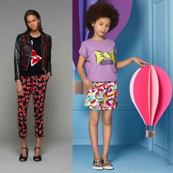 MOSCHINO KID-TEEN 'Sweet Wrapper' Tunic Top