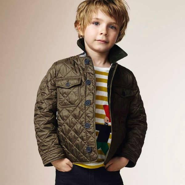 burberry hoodie kids gold