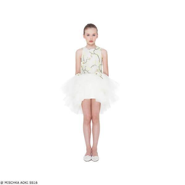 Mischka Aoki Summer Beauty Dress Spring Summer 2016