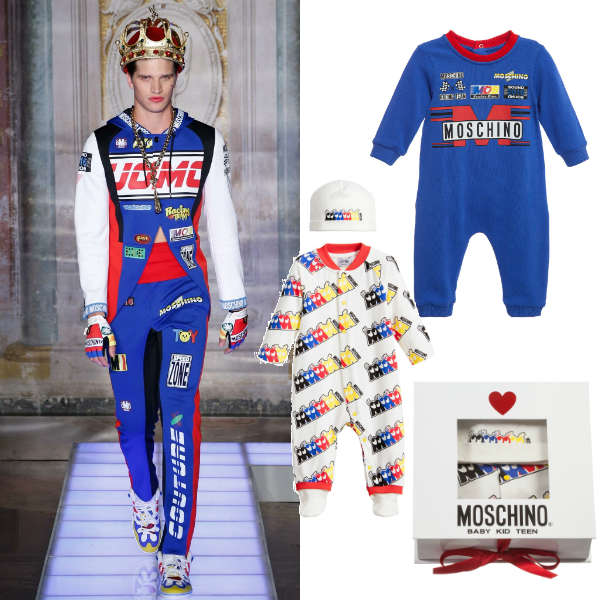 Moschino Baby Boys Mini Me Care Racing Outfit