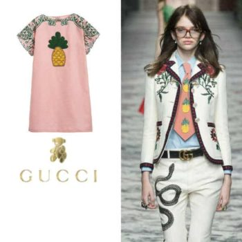 Gucci Pineapple Trend SS16