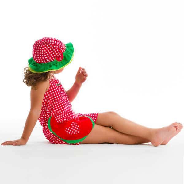 AGATHA RUIZ DE LA PRADA Red Checked Cotton Jersey Dress