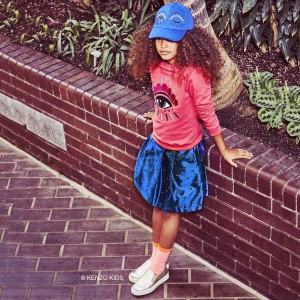 kenzo-girls-pink-cotton-eye-sweatshirt-blue-satin-eyes-skirt