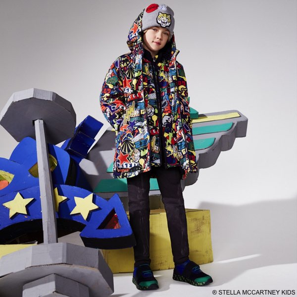 STELLA MCCARTNEY KIDS Sticker Print Outfit