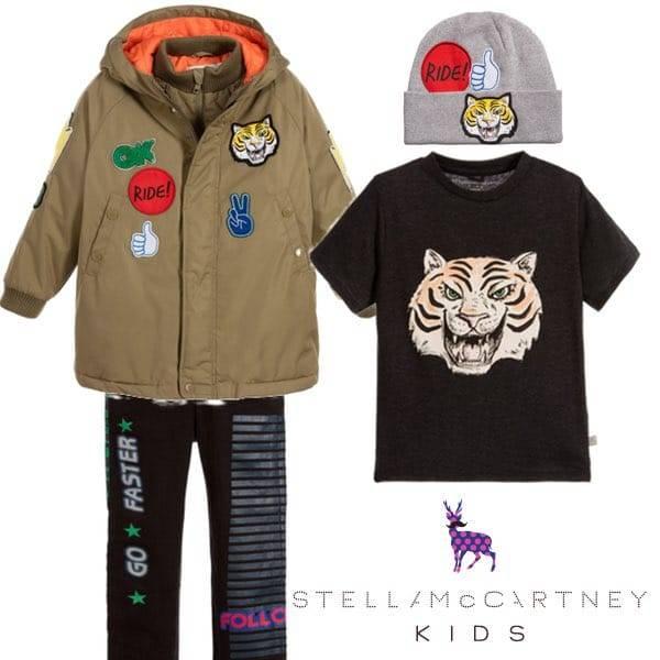 3875c23b1 Stella McCartney Kids Motocross Trend Fall Winter 2016