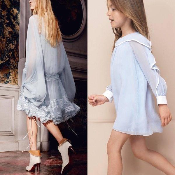 CHLOE-Girls-Mini-Me-Sheer-Blue-Crepe-Dress