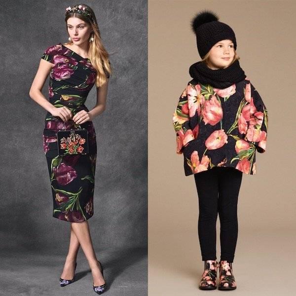 DOLCE & GABBANA Girls Pink & Black Tulip Brocade Coat