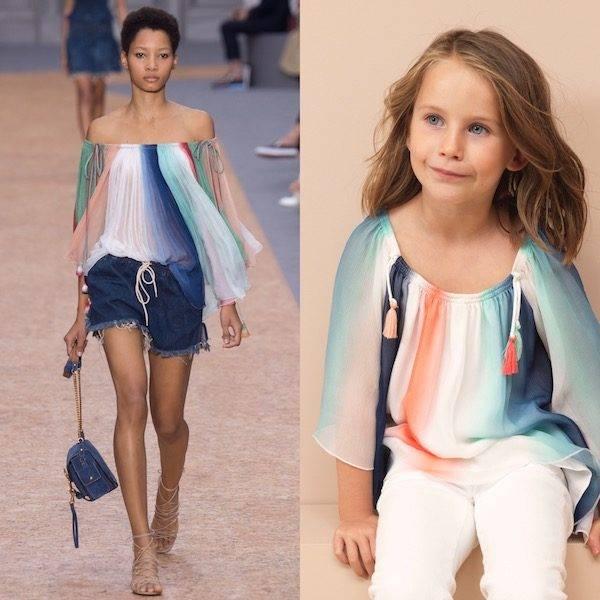 CHLOE-Girls-Mini-Me-Stripy-Blue-Silk-Crêpe-Blouse