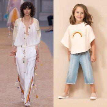 CHLOE-Girls-Mini-Me-White-Rainbow-T-Shirt