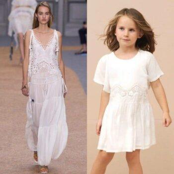 CHLOE-Girls-Mini-Me-White-Viscose-Crepe-Dress