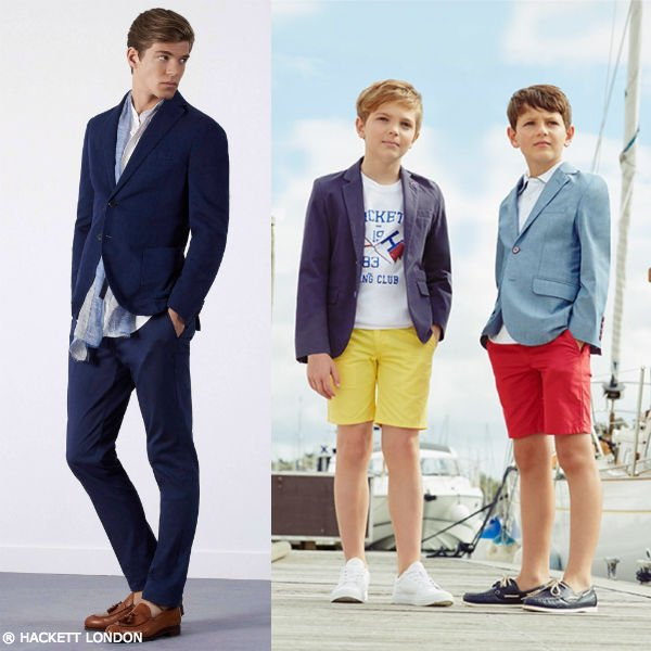 HACKETT LONDON Boys Mini Me Me Sailing Club Outfit