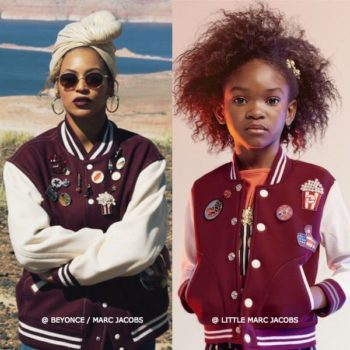 Mini Me Beyonce Marc Jacobs Cinema Varsity Jacket