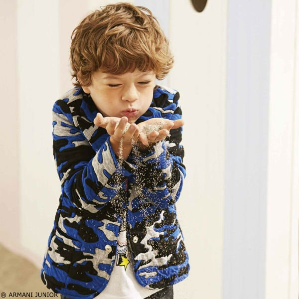 Armani Junior Camouflage Jacket & Pants