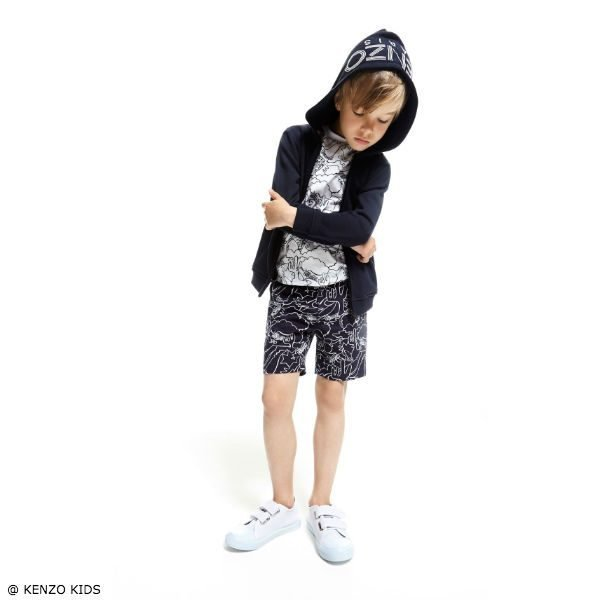 KENZO Boys Cartoon Cactus T-Shirt & Shorts