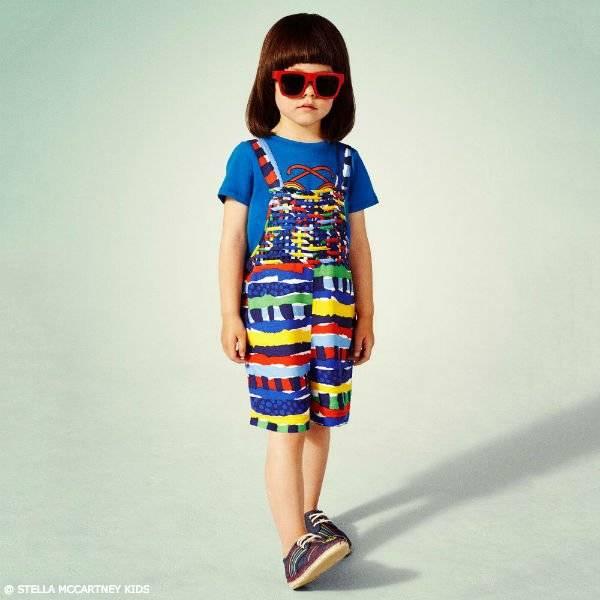 Stella McCartney Kids Girls Mini Me Island Festival Esme Overalls