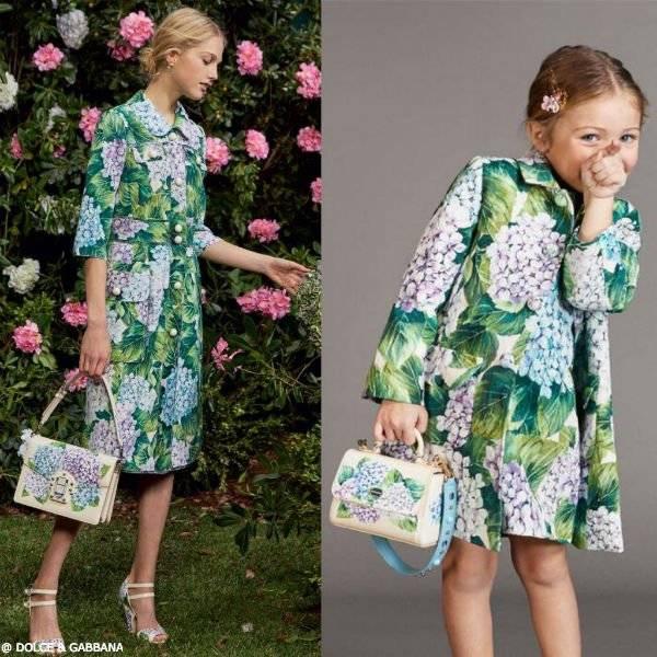 DOLCE & GABBANA Girls Ortensia Silk Blend Coat