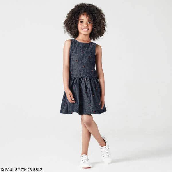 Paul Smith Junior Girls Ladybug Dress