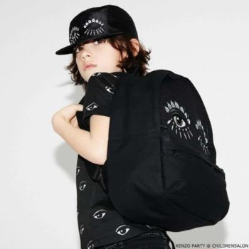 KENZO KIDS EXCLUSIVE EDITION Black Eye Tshirt Hat Backpack