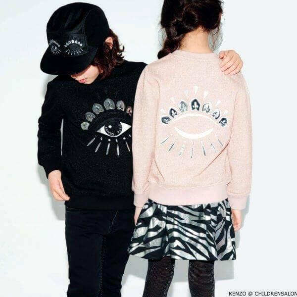 Kenzo Kids Exclusive Party Collection Eye Sweatshirt