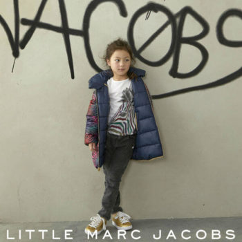 Little Marc Jacobs Girls Zebra Jacket and Tshirt FW17
