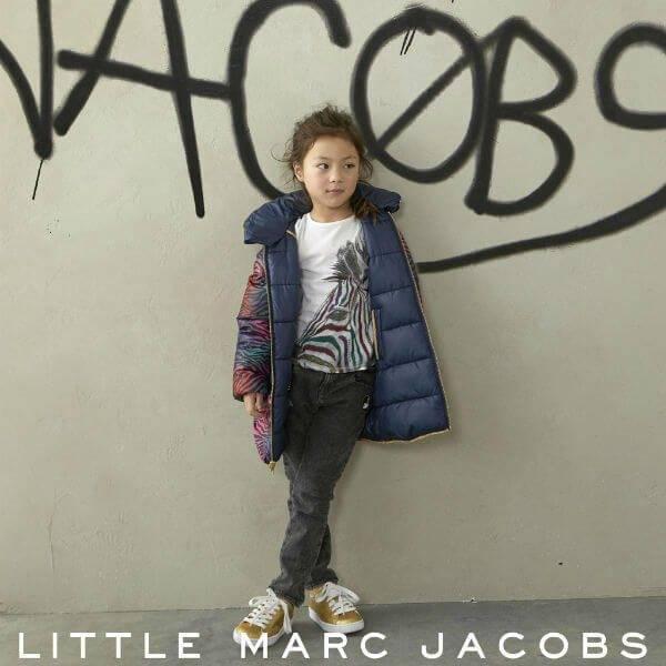 Little Marc Jacobs Girls Zebra Jacket and Tshirt FW17