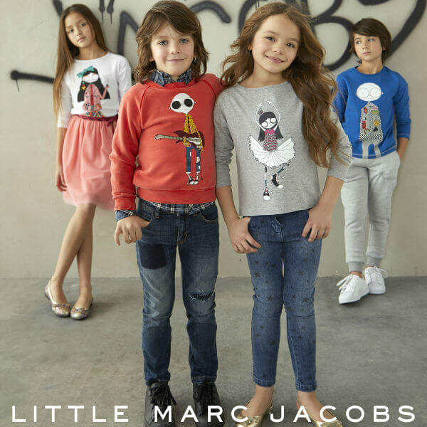 Little Marc Jacobs Kids Mr & Mrs. Marc