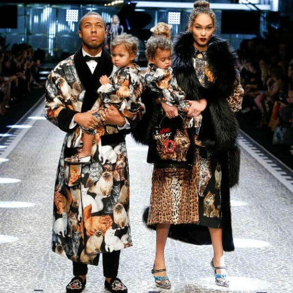 DOLCE-GABBANA-Baby-Mini-Me-Silk-Gatti-Print-Outfit-Jason-and-Amandal-Harvey-fw17