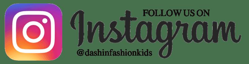 follow us on instagram dashinfashionkids