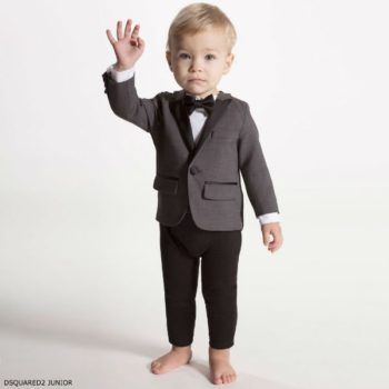 DSQUARED2 Junior Baby Boys Tuxedo Babysuit