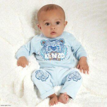 KENZO KIDS Blue Tiger Sweatshirt