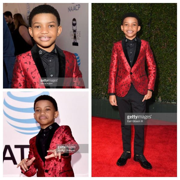 235ccdca3 Lonnie Chavis - DOLCE   GABBANA Boys Mini Me Red Jacket