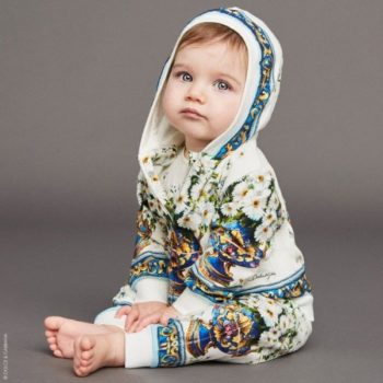 DOLCE & GABBANA Baby Girls 'Vaso Fiori' Mini Me Tracksuit